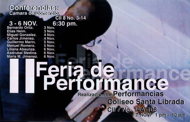 II FERIA DE PERFORMANCE